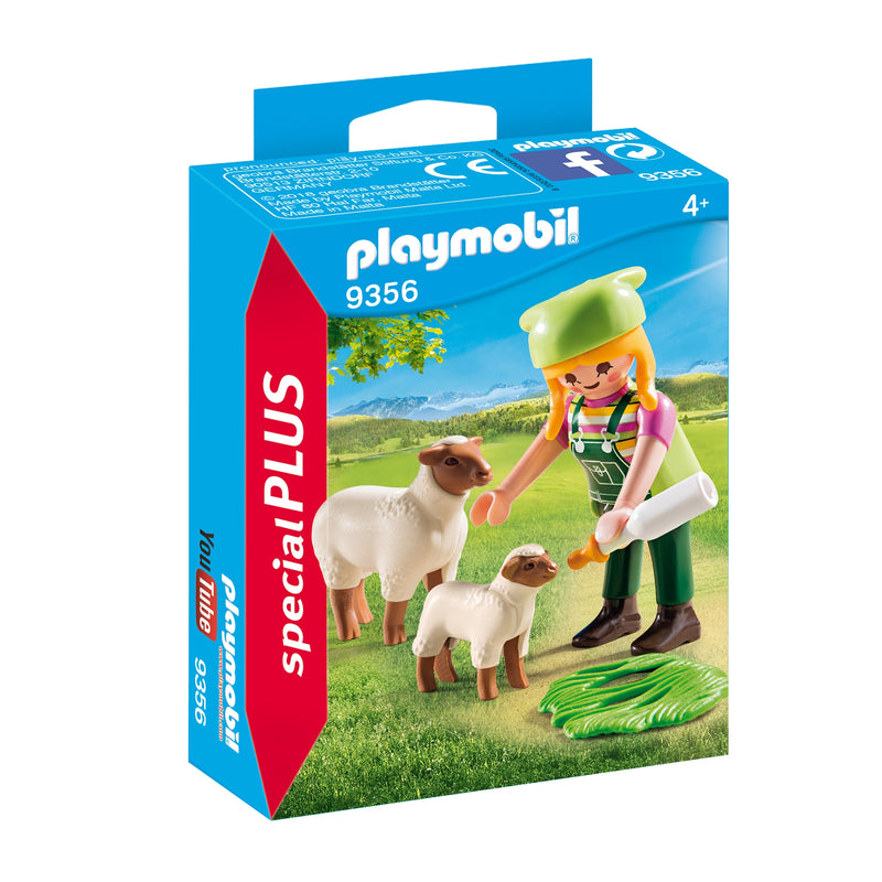 Playmobil - 9356 | Special Plus: Farmer with Sheep