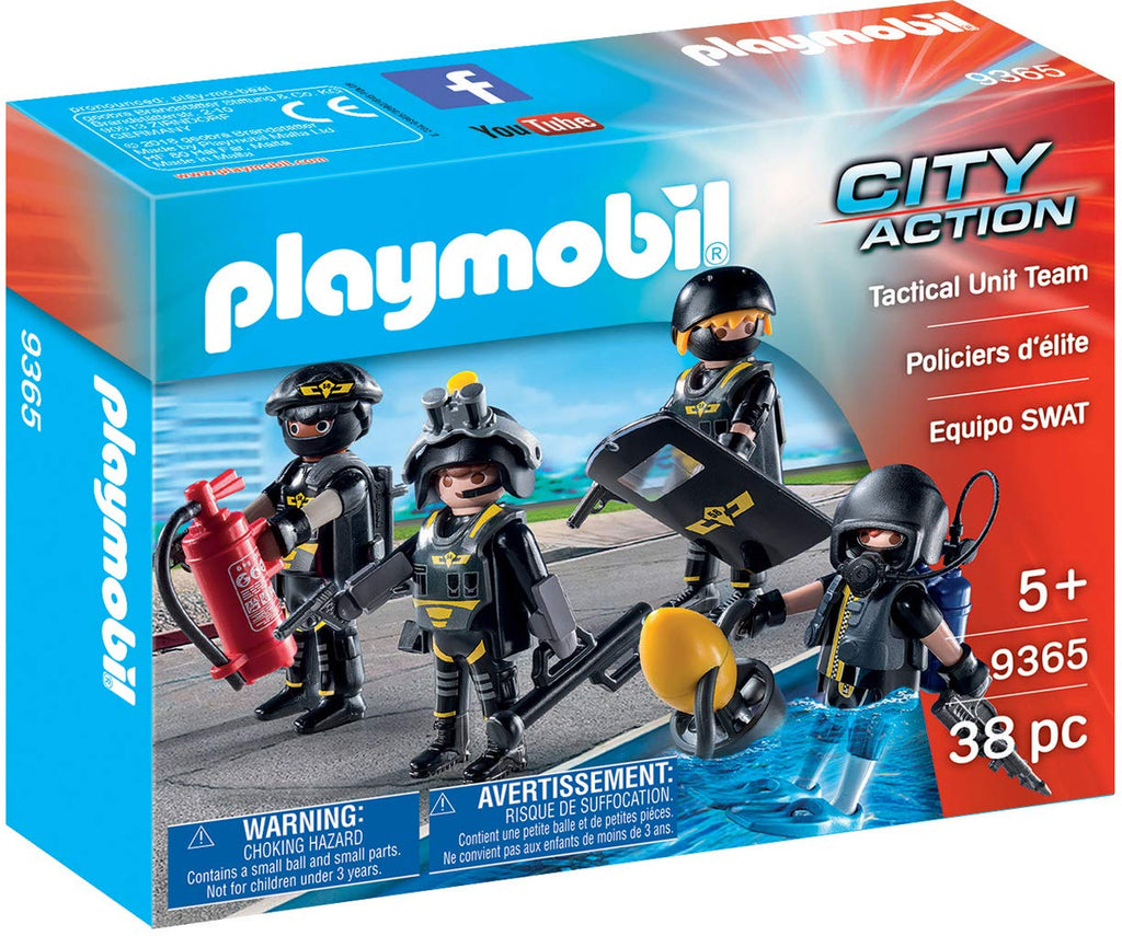 Playmobil - 9365 | City Action: Tactical Unit Team