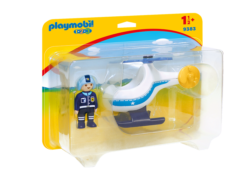 Playmobil - 9383 | 1-2-3 Police Copter