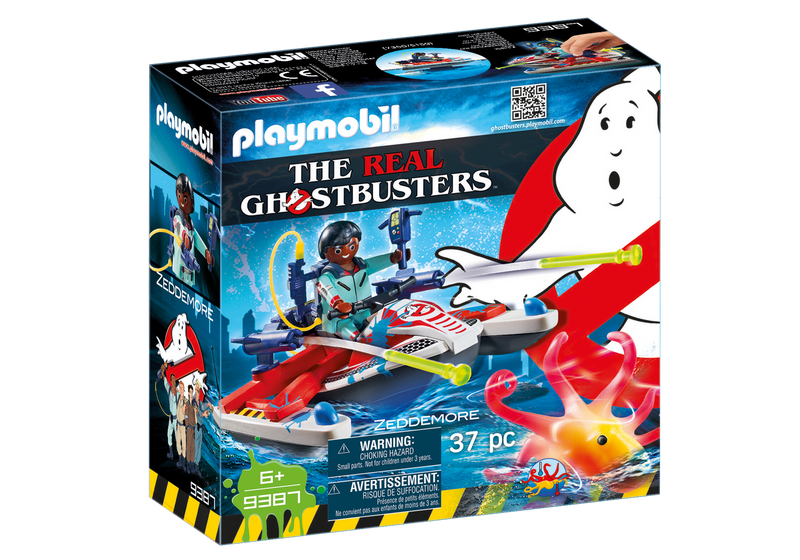 Playmobil - 9387 | Ghostbusters: Zeddemore With Aqua Scooter