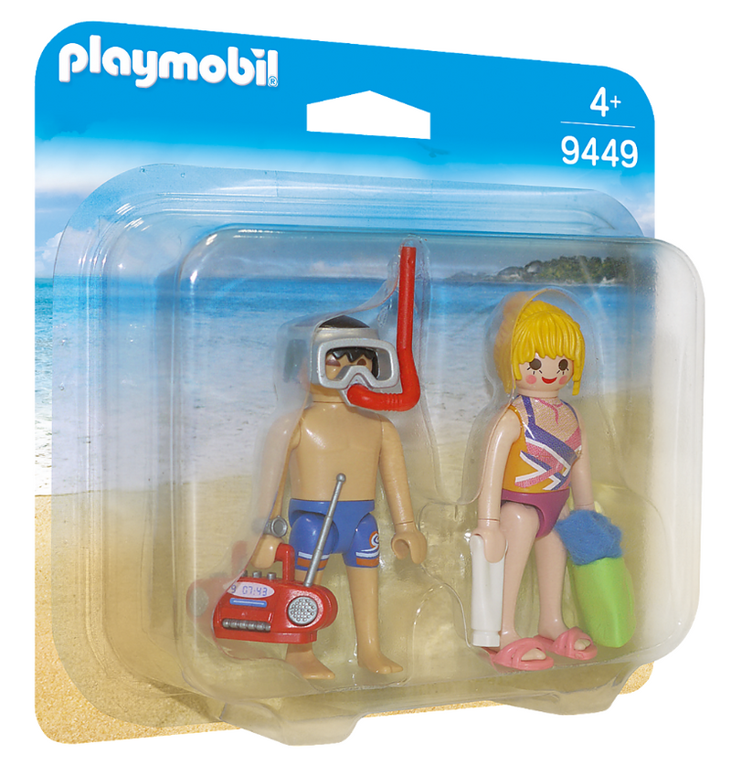 Playmobil - 9449 | Duo Pack: Beachgoers