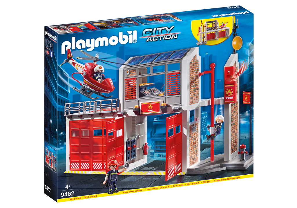 Playmobil - 9462 | City Action: Fire Station