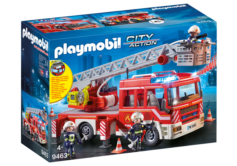 Playmobil - 9463 | City Action: Fire Ladder Unit