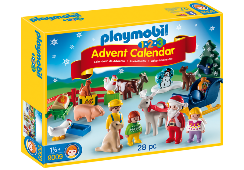Playmobil - 1-2-3 Advent Calendar: Christmas On The Farm