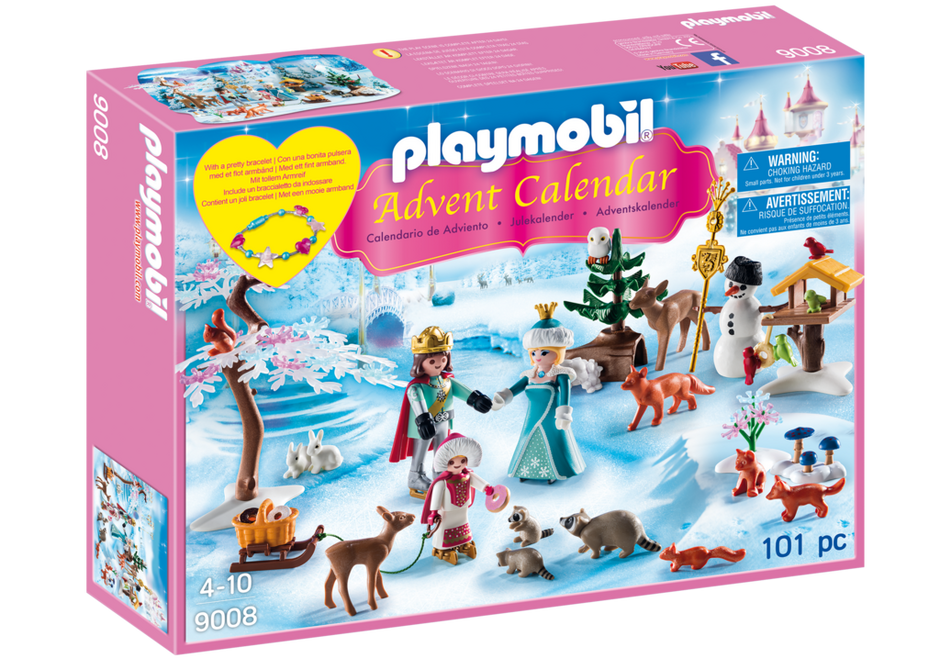 Playmobil - Advent Calendar: Royal Ice Skating Trip