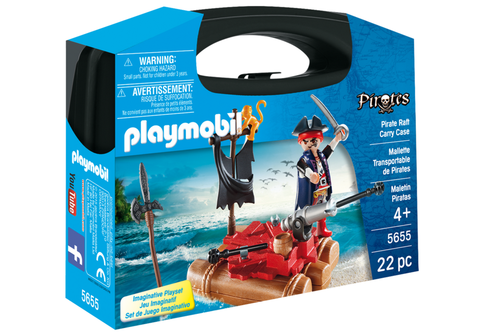 Playmobil - 5655 | Pirates: Pirate Raft Carry Case