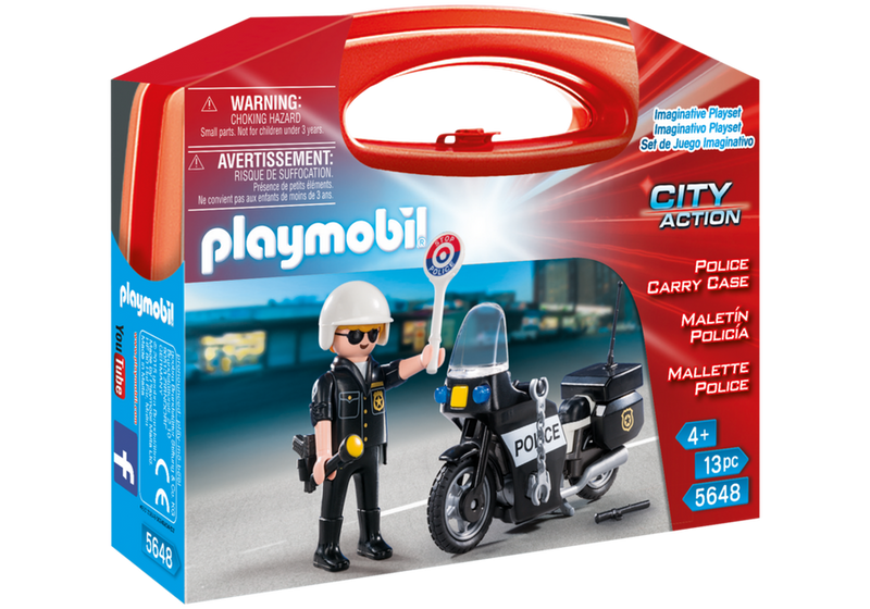 Playmobil - 5648 | City Action: Police Carry Case