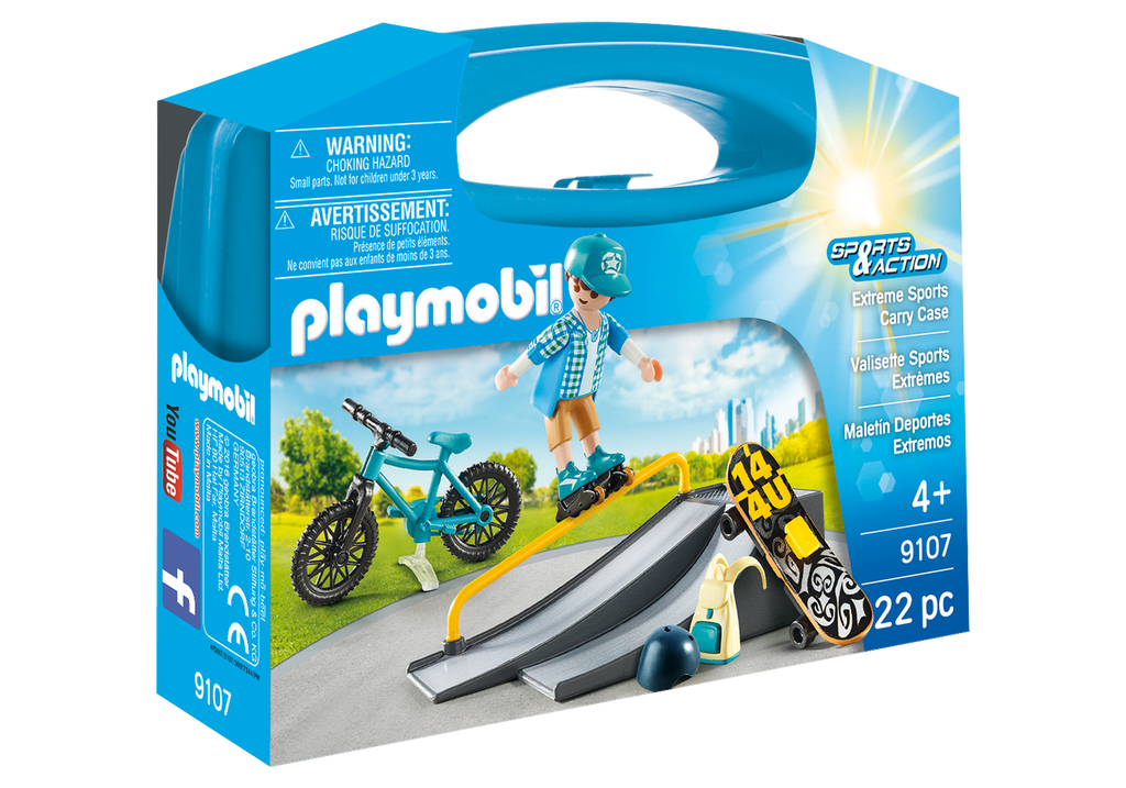 Playmobil Extreme Sports Carry Case - 9107