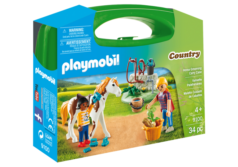 Playmobil - Country: Horse Grooming Carry Case