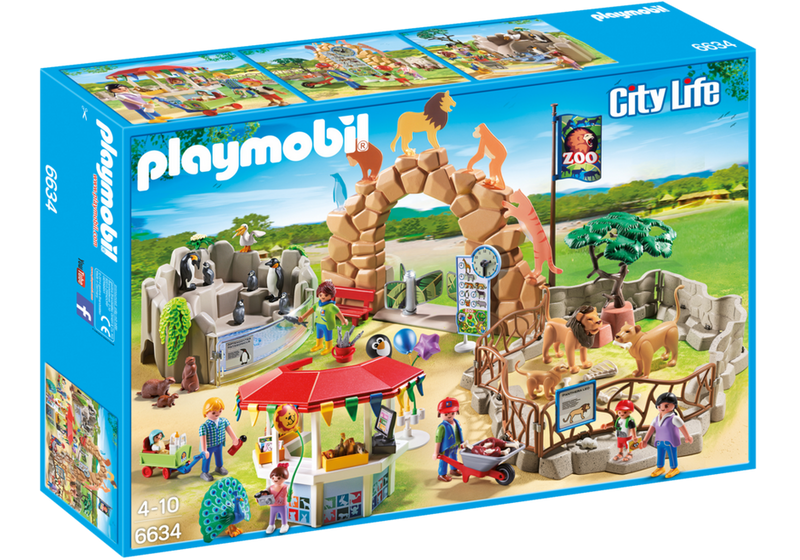 Playmobil Large City Zoo - 6634