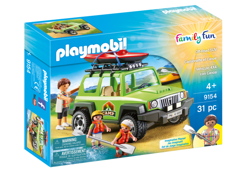 Playmobil Off Road SUV - 9154