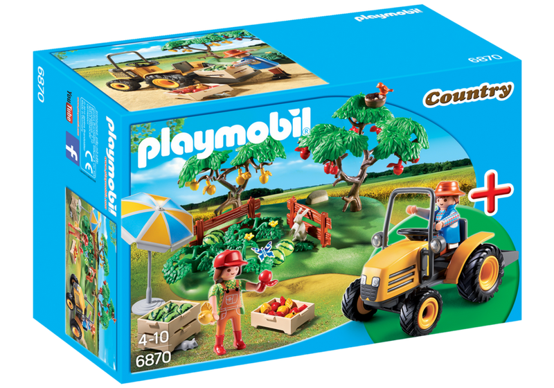 Playmobil - 6870 | Country: Orchard Harvest Starter Set
