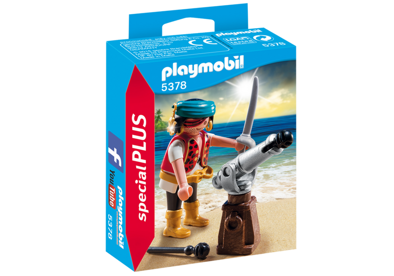 Playmobil - Special Plus: Pirate With Cannon