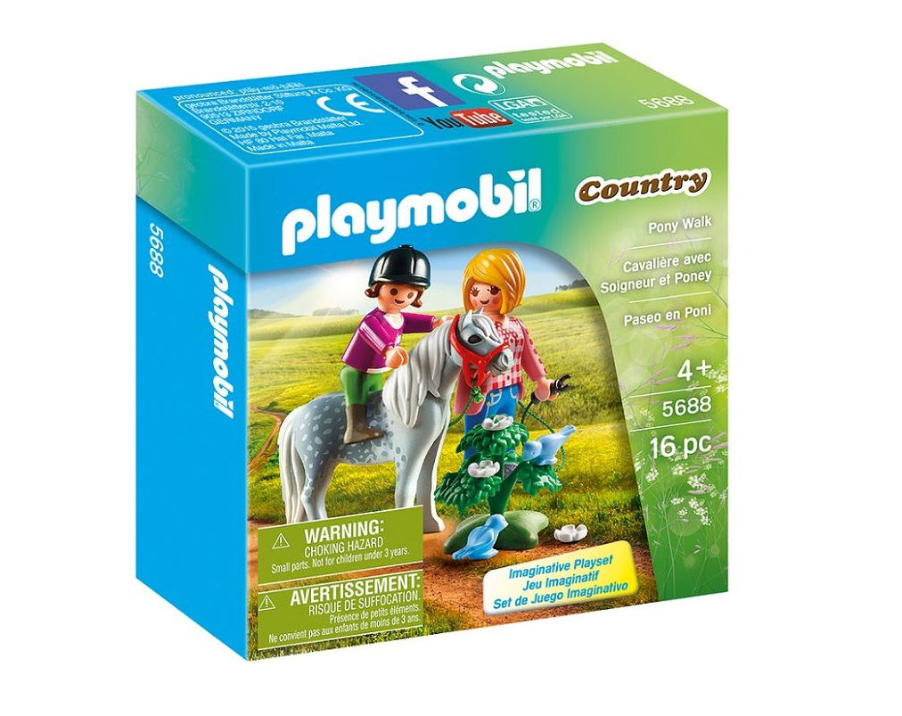 Playmobil - 5688 | Country: Pony Walk
