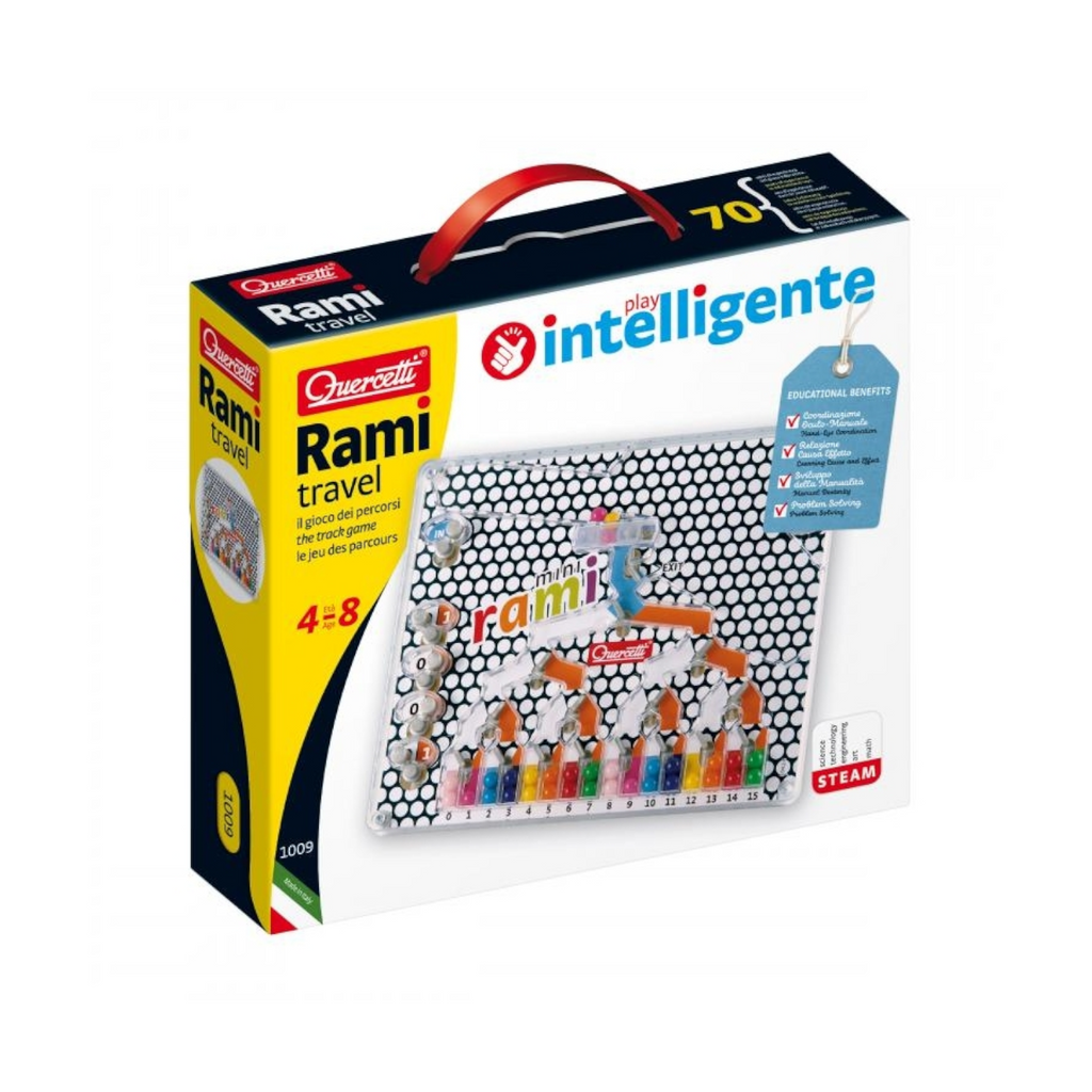 Quercetti - 10099 | Mini Rami (Educational Game)