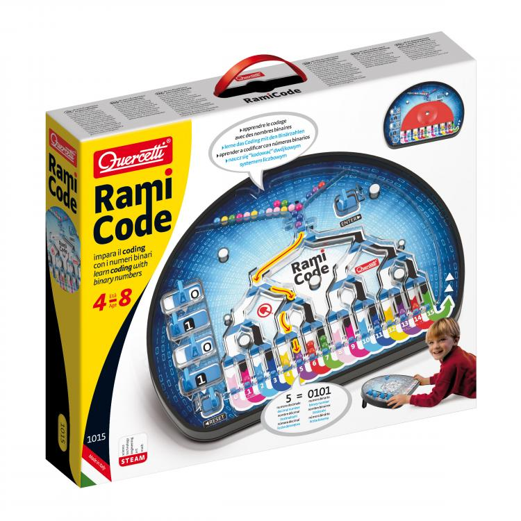 Quercetti - 1015 | Rami Code - Educational Coding Game