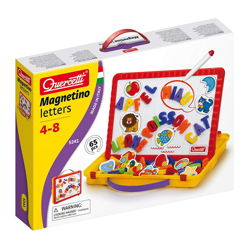 Quercetti - 5241 | Magnetino Carry On Letters