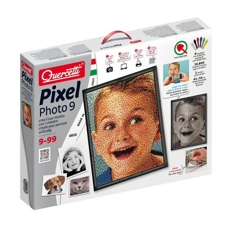 Quercetti - 8102 | Pixel Photo 9 Boards