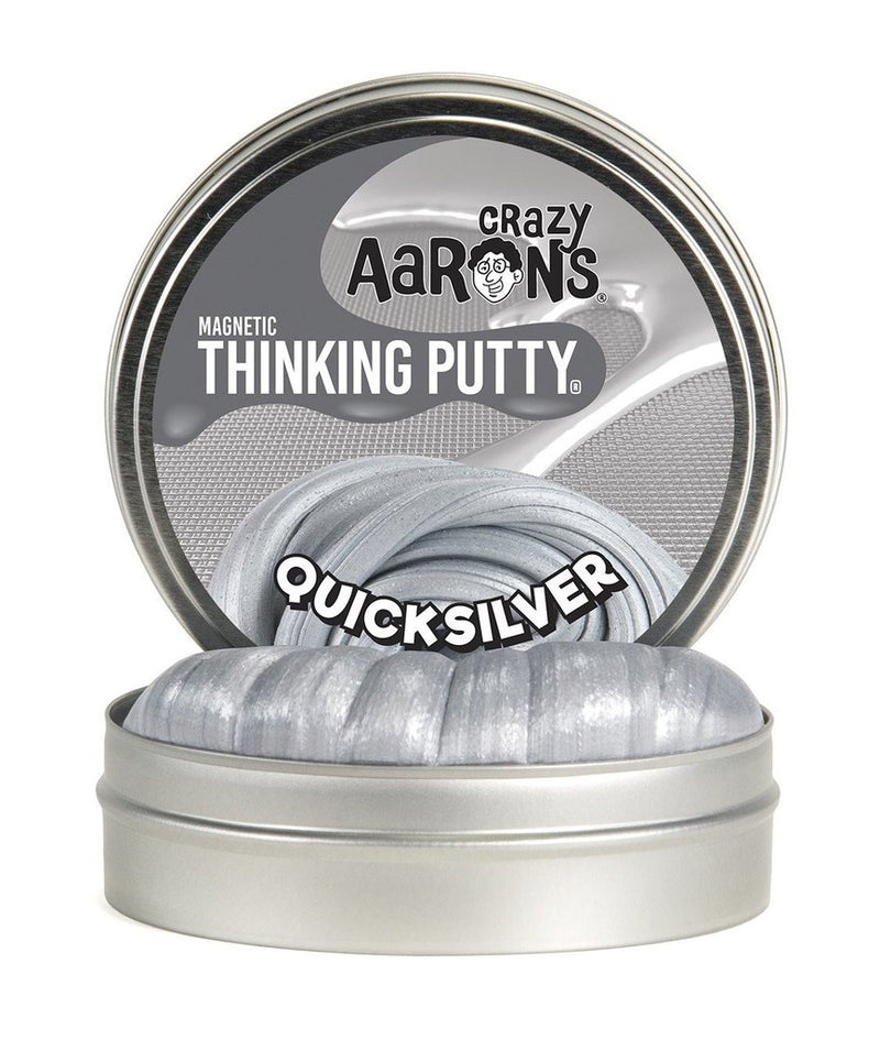 Crazy Aaron's Thinking Putty - Super Magnetic: Quicksilver