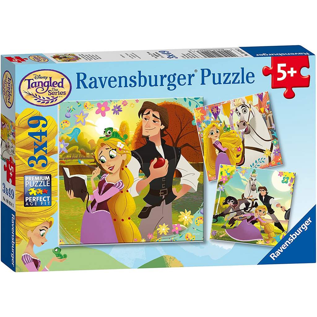Ravensburger - 08024 | Tangled 3x49 pc Puzzle
