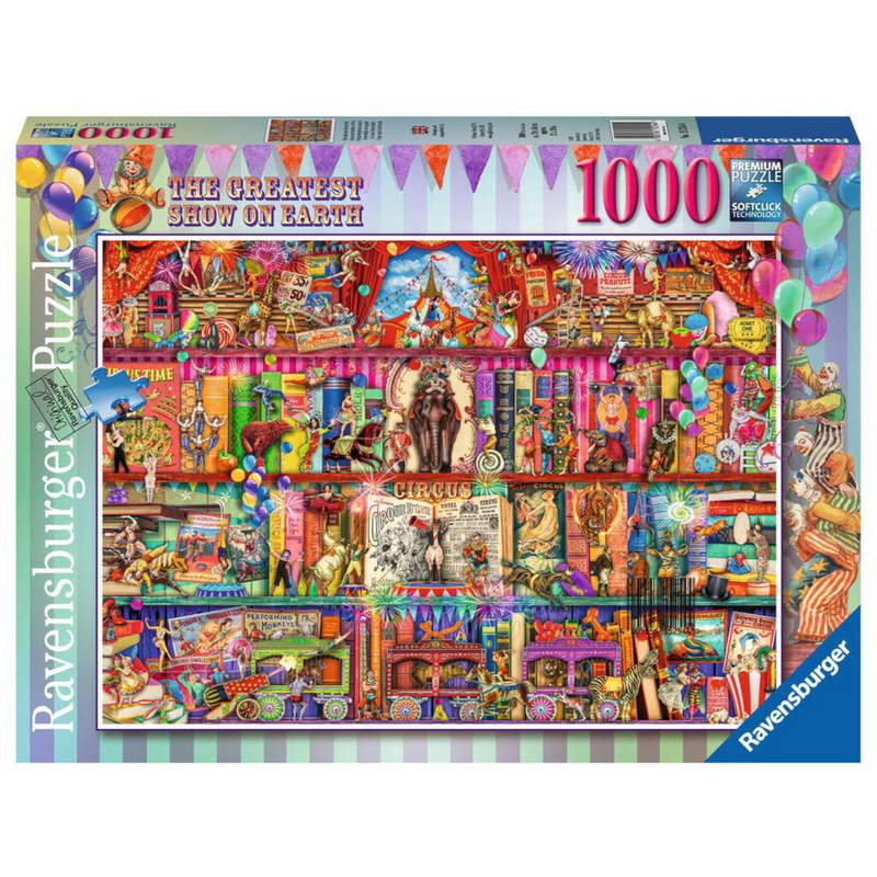 Ravensburger - 15254 | The Greatest Show on Earth 1000 PC Puzzle