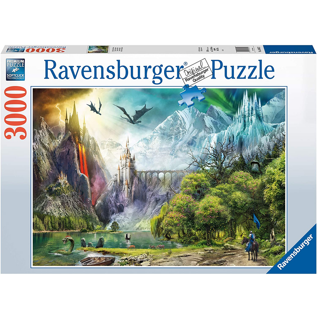 Ravensburger - 16462 | Reign of Dragons - 3000 PC Puzzle