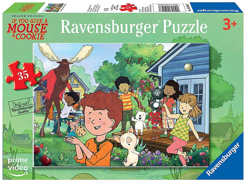 Ravensburger - 05056 | GAMAC - Mouse and His Friends 35 Piece Puzzle