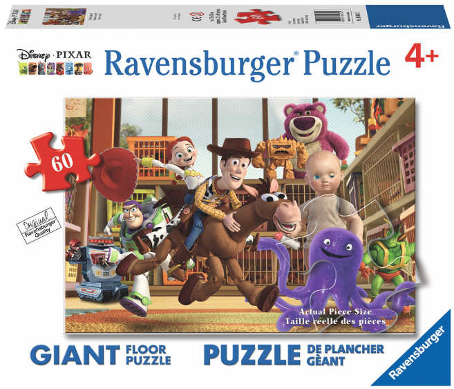 Ravensburger - 05434 | Disney Toy Story - Playing Around (60 Piece Floor Puzzle)
