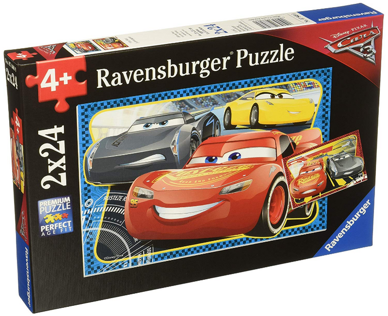 Ravensburger - 07808 | Cars 3 - I Can Win! (2x24 Piece Puzzle)