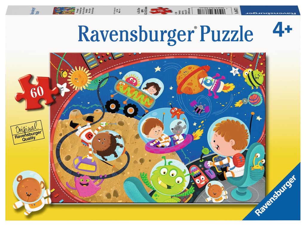Ravensburger - 08677 | 60 Piece Puzzle Recess in Space