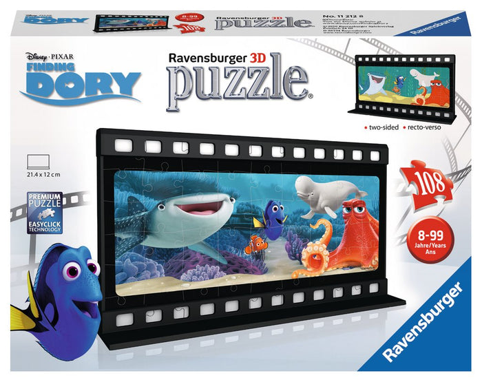 Ravensburger - 11211 | Finding Dory - 108 PC 3D Puzzle