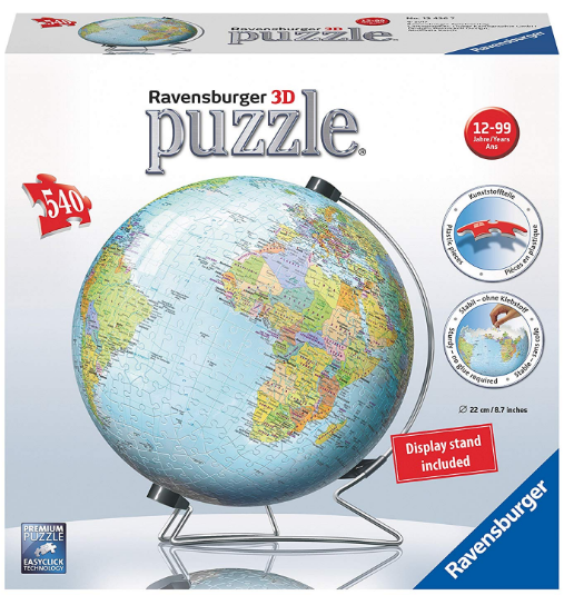 Ravensburger - 12436 | 540 PC Puzzle The Earth