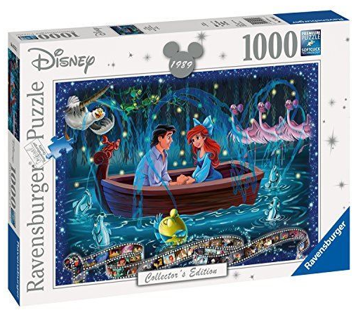 Ravensburger - 19745 | 1000 Piece Puzzle The Little Mermaid