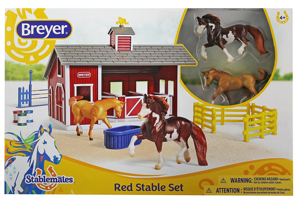 Breyer - 59197 | Stablemates: Red Stable Set