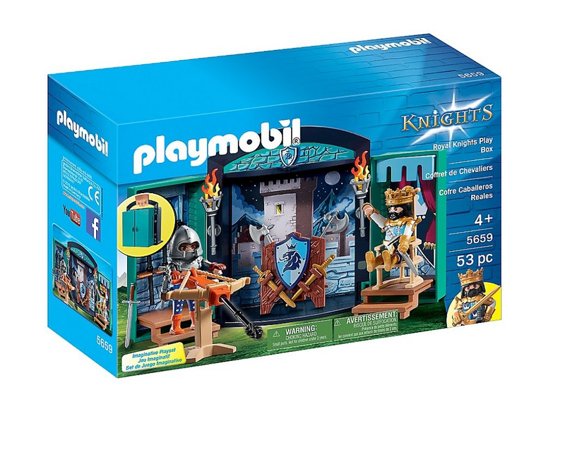 Playmobil - 5659 | Knights: Royal Knights Play Box