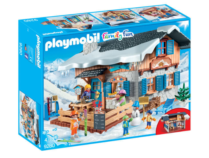 PLAYMOBIL SKI LODGE - 9280 Castle toys Kids