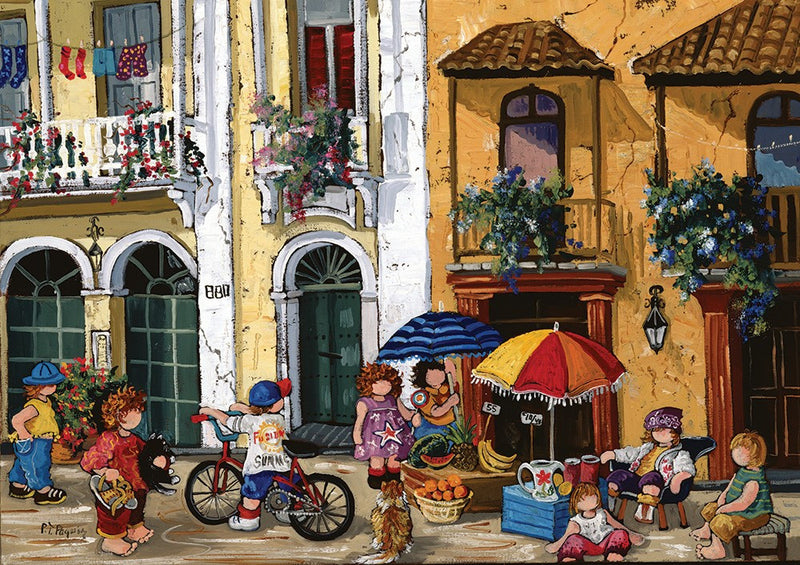 Trefl: Summertime by Pauline Paquin 1000 Piece Puzzle