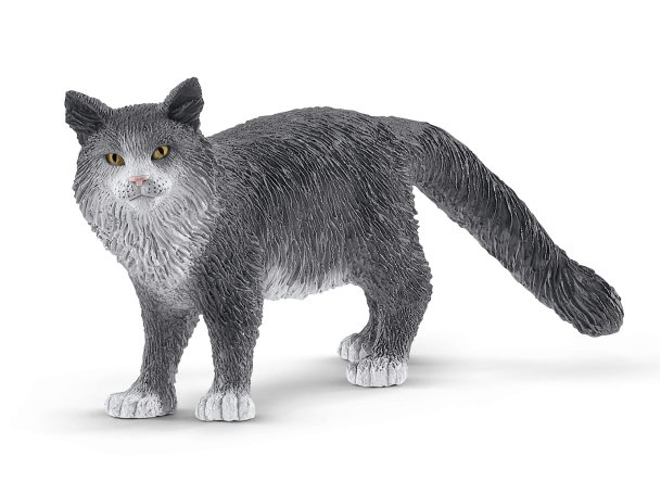 Schleich - 13893 | Farm World: Maine Moon Cat