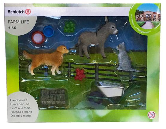 Schleich - 41423 | Farm World: Feeding On The Farm