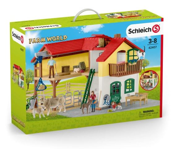 Schleich - 42407 | Farm World - Large Farm House