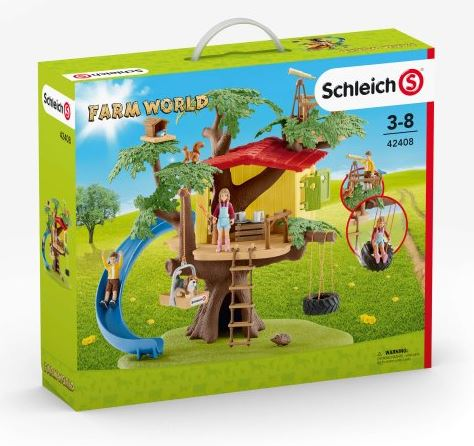 Schleich - 42408 | Farm World: Adventure Tree House