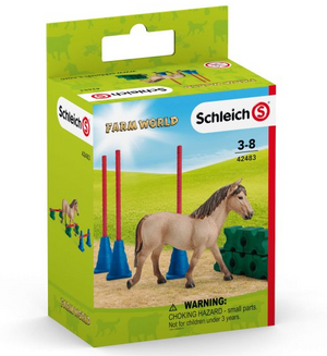 Schleich - 42483 | Farm World: Pony Slalom