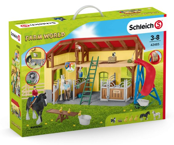 Schleich - 42485 | Farm World: Horse Stable