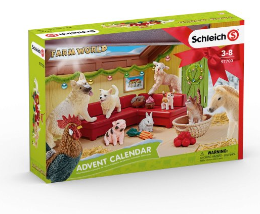 Schleich - 97700 | Farm World: Advent Calendar 2018
