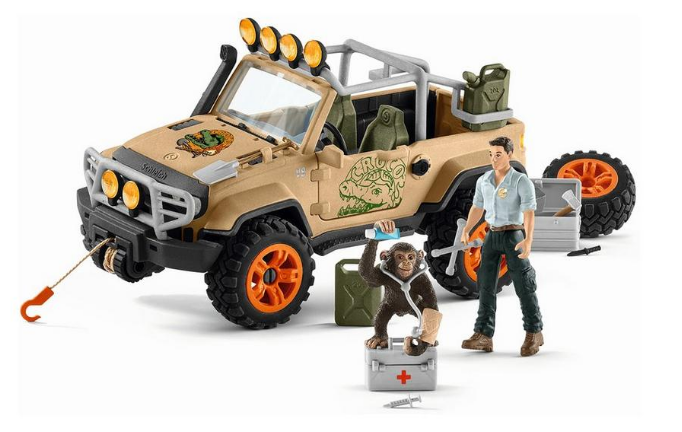 Schleich - 42410 | Wild Life: Off-Roader With Rope Winch