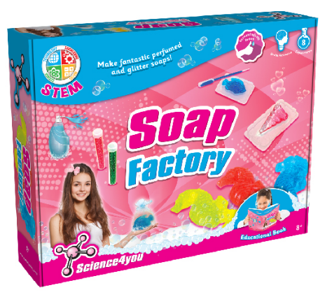 Science 4 You - S4Y 395374 | Soap Factory Kit