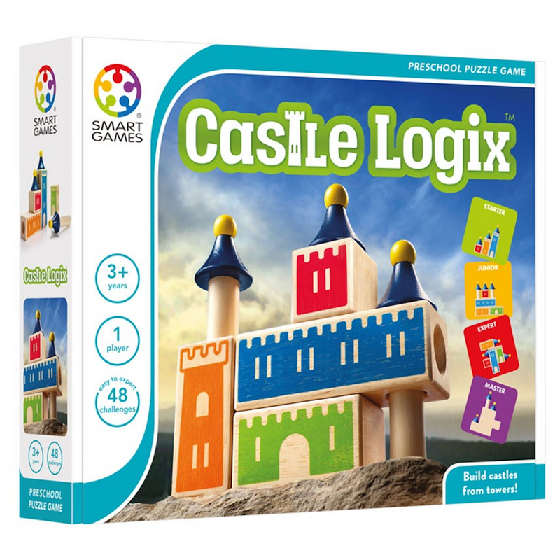 Smart Games - 518709 | Castle Logix 48 Challenges