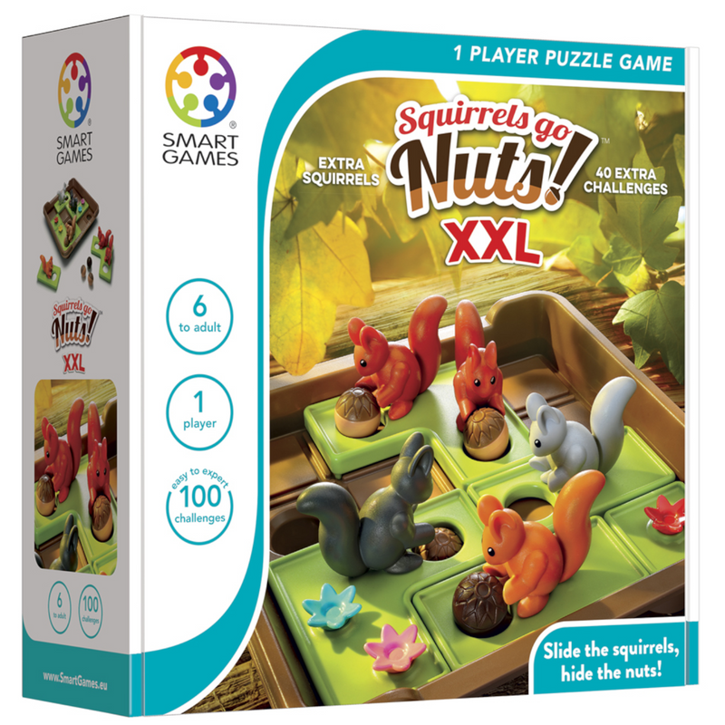 Smart Games - SG425XXL | Squirrels Go Nuts XXL Game