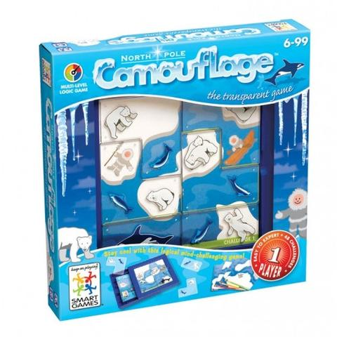 Smart Games - 513124 | Camouflage North Pole Logic Educational Game