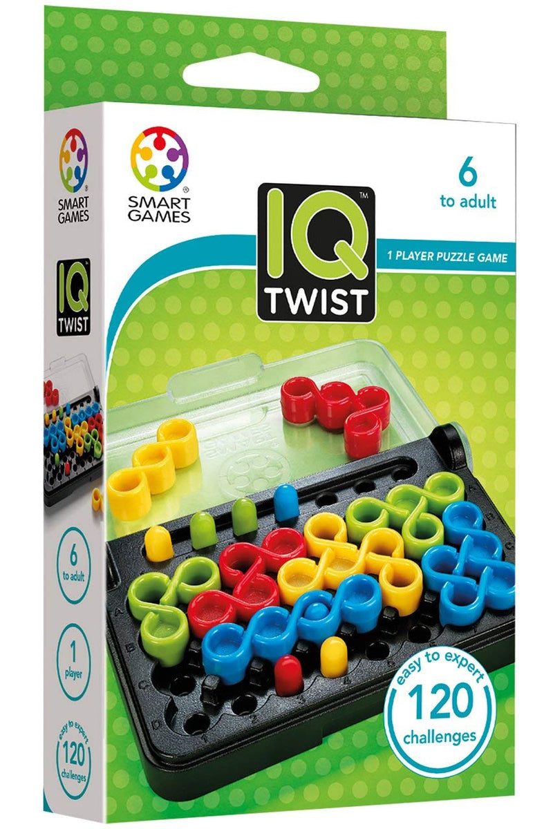 Smart Games - 515975 | IQ Twist Logic Educational Game